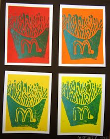 For the Love of Art: 5th Grade: Pop Art Prints