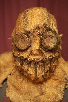 Stiltbeast Studios offers: Deranged Masks. An excellent source for Haunters!