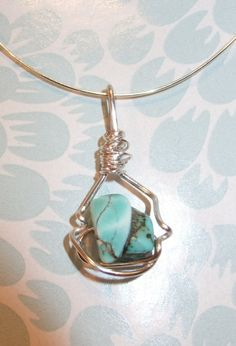 Turquise Pendant by BlueFlowerBoutique on Etsy, $15.00