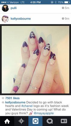 Kelly Osbourne nails #CCcertified #trendy