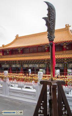 wen wu temple guan yu blade