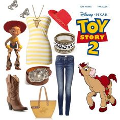 Jessie(Toy Story 2), created by calilove31.polyvore.com