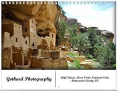 Custom calendars (size shown: 8.375 x 10.8) - Cliff Palace at Mesa Verde National Park, CO.