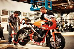 RocketGarage Cafe Racer: Laverda XTR