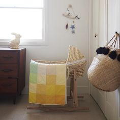 Perfect little nursery with all the right accessories. #estella #nursery #decor