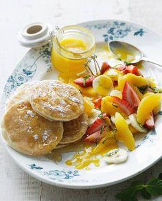 Pancakes à la farine de pois chiche pour 4 personnes - Recettes Elle à Table