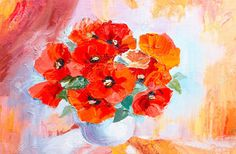 38214430-Oil-painting-still-life-abstract-watercolor-bouquet-of-poppies-in-vase-Stock-Photo.jpg (1300×850)