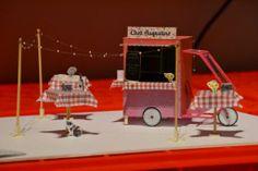 ma cantine en ville - radis rose Projets d'aménagement pour street food