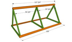 This step by step diy project is about how to build a simple chicken coop. Building an easy chicken coop is a nice weekend project, if you want fresh eggs every day. A Frame Chicken Coop, Chicken Coop Kit, Chicken Coop Plans Free, Mobile Chicken Coop, Chicken Pen, Portable Chicken Coop, Backyard Chicken Coops, Building A Chicken Coop, Chickens Backyard