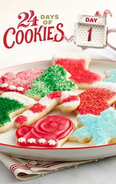 Sugar cookie cutouts are a cookie-exchange classic. Make them fuss-free with the help of Betty's sugar cookie mix, frosting, decorating icing and sprinkles! Pro tip: To make cutting easier, dip your cutters in flour or powdered sugar.