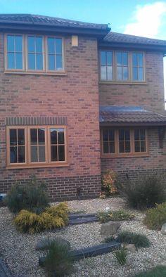 Green Windows, Upvc Windows, House Windows, Windows And Doors, Energy Efficient Windows, Window Coverings, Sage, Irish, Garage Doors