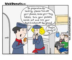 Airline prank...