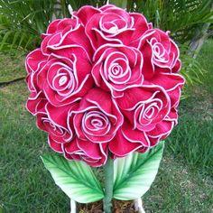 Blog Luana Alves Artesanato em EVA: Olha cada Topiaria que a Cami Soares faz lindas!!!