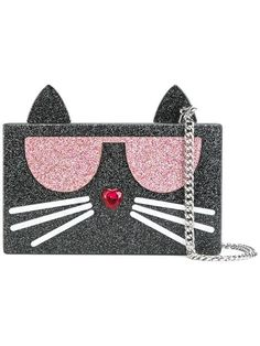 KARL LAGERFELD 'K/Kocktail' clutch. #karllagerfeld #bags #clutch #hand bags #