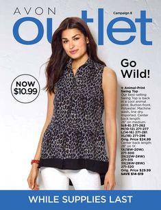 Avon Campaign 8 2018 Brochure - March Outlet Book