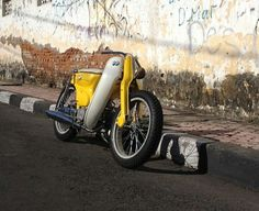 Honda C90 Super Cub Honda Cub, Custom Motorcycles, Custom Bikes, Barrel Of Monkeys, Moto Car, Motor Scooters, Mini Bike, Motorcycle Bike, Super Bikes