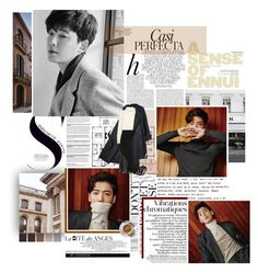 """""""Jung Kyung-ho for Sure January 2016 Issue"""" by xoreinaox ❤ liked on Polyvore featuring BYRON, Whiteley, twenty2, Agnona, Givenchy, Hermès, STELLA McCARTNEY, chic, classy and luxurious"""