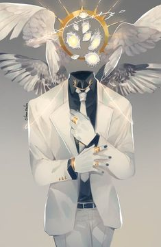 crimson-chains: New Angel OC!His name is Arthur He goes by. Fantasy Kunst, Dark Fantasy Art, Fantasy Artwork, Fantasy Character Design, Character Design Inspiration, Character Art, Creature Concept Art, Creature Design, Kunst Inspo