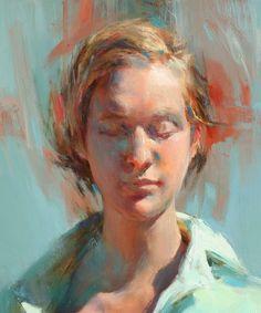 ♀ Painted Art Portraits ♀ Gue Yang