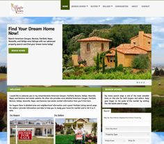 Real Estate Website Dreaming Of You, Web Design, Real Estate, Mansions, Website, House Styles, Home Decor, Design Web, Real Estates