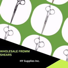Discover a wide range of Superior Quality, Wholesale Fromm Shears in different designs, sizes, the price for luxurious hairdressing from HY Supplies Inc. #shears #salonshears #shearsforbeautysalon Beauty Industry, Superior Quality, Hairdresser, Salons, Range, Lounges, Cookers, Barber, Barber Shop