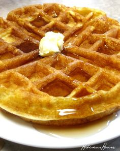 Hibiscus House: Belgium Waffles Southern Style