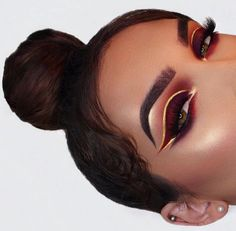 Red and gold liner