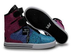Kids Supra TK Society multicolored Skate supra sneakers