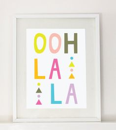 Ooh La La by Sandy Rowley on Etsy