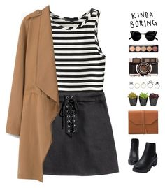 """""""lost in white noise"""" by intanology ❤ liked on Polyvore featuring MANGO, Eccolo and Iosselliani"""