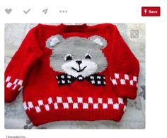Teddy bear cardigan - saved a knitting chart pdf