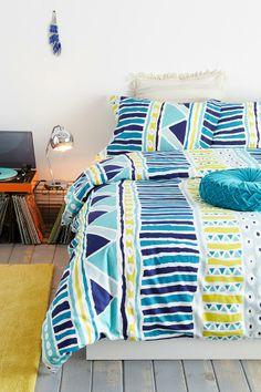 Magical Thinking Bauhaus-Stripe Duvet Cover