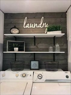 minimalist small laundry room design and decor ideas 3 . minimalist small laundry room design and decor ideas 3 Laundry Room Remodel, Laundry In Bathroom, Small Laundry Rooms, Laundry Room Makeovers, Laundry Area, Apartment Laundry Rooms, Colors For Laundry Room, Farmhouse Laundry Rooms, Basement Apartment Decor