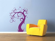 Decorative Tree Wall Decals  Wall Vinyl Decal  by BestDecals, $17.99