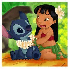 lilo and stitch disney childhood disneyland lilo disney movies stitch hawaii disney movie lei ohana luau Disney Pixar, Arte Disney, Disney And Dreamworks, Disney Animation, Disney Magic, Disney Characters, Ohana, Stitch Tumblr, Lilo And Stitch 3