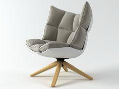 New chair B Italia Husk design Patricia Urguiola