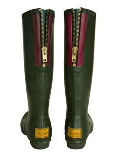 Jo White Candy: Tom Joules Rain Boots!