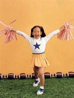 Homemade Costume Ideas: Cheerleader