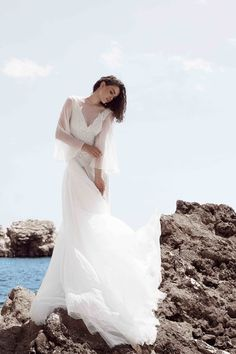 Georgia Wedding Gown! Otilia Brailoiu Atelier Cruise 2016 Collection.. Follow more on facebook: Otilia Brailoiu Atelier