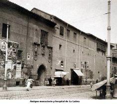 Antiguo hospital de la Latina, donde hoy día está el teatro del mismo nombre