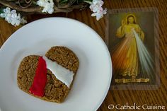 Catholic Cuisine: Divine Mercy Cookies