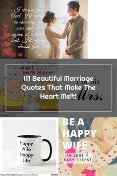 Husband And Wife Quotes Happy Wife Quotes, Heart Melting, Marriage, Husband, Make It Yourself, Valentines Day Weddings, Weddings, Mariage, Wedding