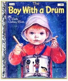 A Little Golden Book - The Boy With a Drum