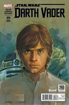 Luke SKYWALKER, R2-D2 and MASTER YODA | Episode V : The Empire Strikes Back (1980) | By Phil NOTO (MARVEL Comics) | STAR WARS : Comics