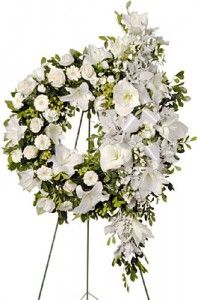 Unique Floral Centerpieces Sympathy Flowers Funeral Flower