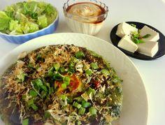 negiyaki lunch
