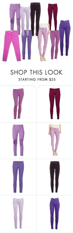 """""""Purple Jeans"""" by girlwithglitter ❤ liked on Polyvore featuring Paige Denim, Great Plains, Aries, BleuLab, Emilio Pucci, J Brand, Current/Elliott and Versace Jeans Couture"""