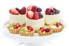 Mini cheesecakes Cupcakes, Pasta, Mini Cheesecakes, Desserts, Food, Cookies, Sweets, Postres, Recipes