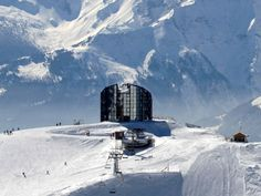Kuklos, a revolving panoramic restaurant, Leysin, Lake Geneva Places To See, Places Ive Been, Go Skiing, Lake Geneva, Winter Activities, Winter Scenes, Adventure Awaits, Travel Guides, Trip Planning