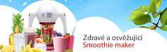 Osvěžující nápoje - Smoothie Maker Luxel http://www.elnix.cz/domaci-spotrebice/vareni/mixery/luxel-k-476b